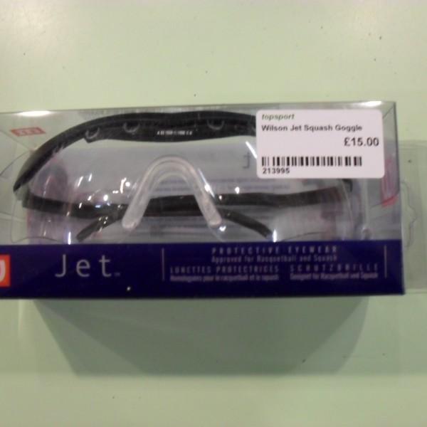 Wilson Jet Squash Goggle