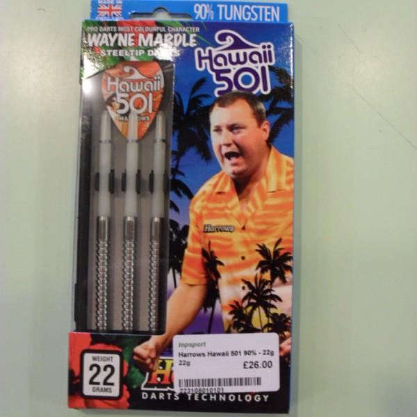 Harrows Hawaii 501 90% Darts Set